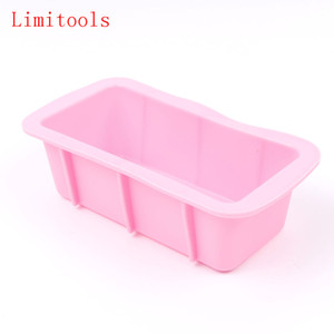 Wholesale soap loaves resale online - LIMITOOLS Silicone Soap Mold D Rectangular Fondant Cake Bread Loaf Chocolate Mold Christmas Baking Tools