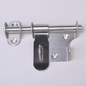 Stainless Steel Security Door Bolts Turn Left or Right with Lock Hole Heavy Duty Door Bolts with Screws Door Latch