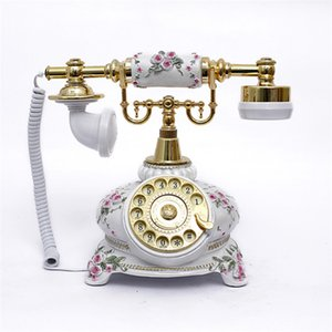 Wholesale To the factory, antique telephone, turntable, old-fashioned European style, creative fashion retro landline 108