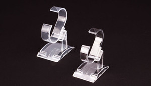 Clear Plastic Jewelry Display Holder Bracelet Ring Watch Stand Support Holder Stand Stand Holder Showcase on Sale