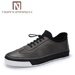 Wholesale NORTHMARCH Classic England Style Casual Shoes Men Brown Lace Up Black Height Increasing Shoes Male Sapato Masculino