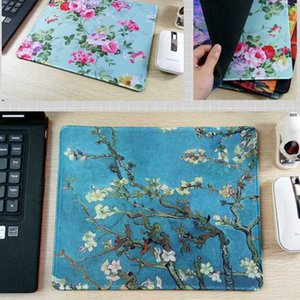 Wholesale New Arrival Painting game mouse pad rectangular rubber mat decorate your desk and computer