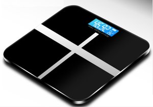 Digital Glass Bathroom Scale with Step-On Technology and LCD Display (Pink or Black) on Sale