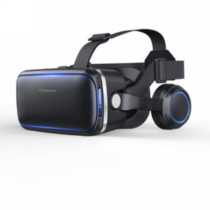 Wholesale 3D VR Glasses New Hot Shinecon VR Box Virtual reality D Glasses with Headphone