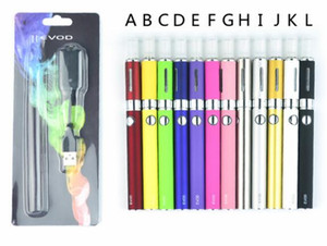 EVOD MT3 Blister kit single kits eGo starter kits e cigs cigarettes 650mah 900mah 1100mah EVOD battery MT3 atomizer