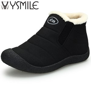 Wholesale High quality fashion winter warm add plush women boots shoes thick sole female snow boots womens rubber ankle boots sneakers hot