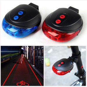 Wholesale safety lights resale online - Bicycle Lights Bike Tail Light Waterproof Cycling Rear Safety Warning LED Lasers Modes Flashing Bycicle Light Tail Lamp