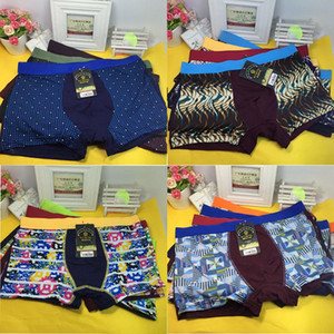 Wholesale 10 Packs Gentle Man Mens Printing Boxers Shorts New Underwear Pairs Pack Fat Large Plus XXL XL XL XL XL Drop