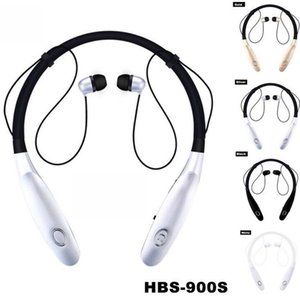 Wholesale Sport Bluetooth Earphone hbs s Portable Headphones X Wireless Earbuds Hand Free Headset With Mic last hours V4 For Smart Phone