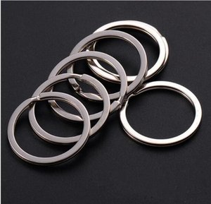 35mm DIY Key Rings 304 Stainless Steel Keyrings for Jewelry DIY accessories 1000pcs Silver Bands for Sale