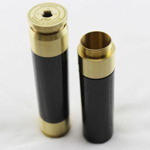 AV carbon fiber Stacked Dual 18650 Mechanical Mod Brass FAST Shipping