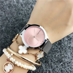 Wholesale 2019 Fashion GUESSity Brand women s men Girl crystal dial Stainless steel band quartz dz wrist watch PANDORA Bracelet Watch gue ss big bang