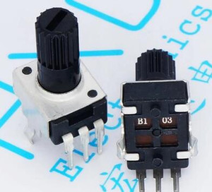 RV09 vertical 12.5mm Shaft 5K 10K 50K 100K 0932 Adjustable Resistor 9 type 3Pin Seal Potentiometer x 100PCS on Sale