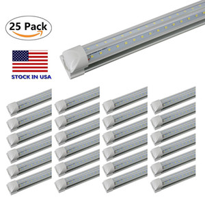 Wholesale T8 ft Watt Integrated Tube Light V Shape LED Tube T8 ft ft ft ft Cooler Door Freezer LED Lighting