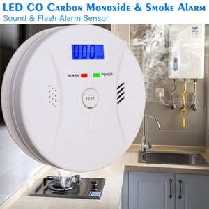 Wholesale 2 In Combination Carbon Monoxide Smoke Alarm Battery Operate CO Smoke Detector
