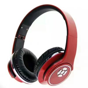 Wholesale Headband style fold Bluetooth headset support NFC and TF cards stereo denoise heavy bass speaker FM multi function integration headphone