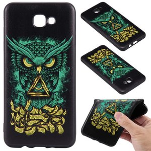 Wholesale For Samsung J5 Prime USA Version Hot Sale Color Model Black Phone Back Case TPU D Relief Frosted Black Phone Case A045