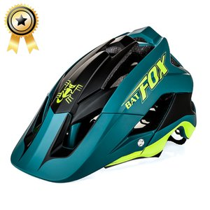 Wholesale 2018 new overall molding bike helmet ultra light bike helmet high quality mtb ciclismo colour BAT FOX DH AM