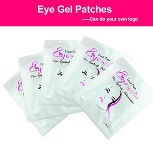 Wholesale 30 pairs set Eyelash Pads Gel Patch Under Eye Pads Lint Free Lashes Extension Mask Makeup
