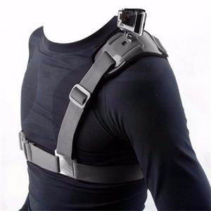 For Go pro Camera Accessories Shoulder chest Strap Mount Holder Hero 4 3 2 SJ4000 4K SJ8000 SJ7000 Camer Chest Harness Belt Adapter