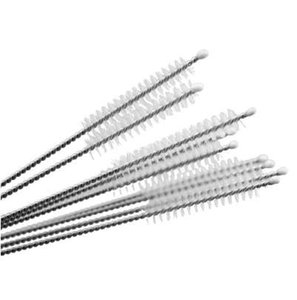 Wholesale 10pcs Nylon Stainless Steel Straw Cleaners Cleaning Brush Glass Drinking Pipe Cleaners Brush