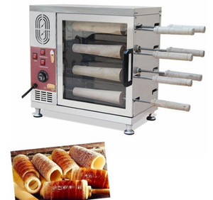 Wholesale bread machines for sale - Group buy Popular Hungary chimney cake oven commercial automatic electric chimney roll cake oven bread roll machine v v