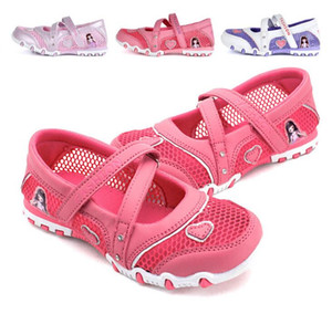 Wholesale 2018 Summer Girls Sandals Indoor Antiskid Sandals Girl Fashion Mesh Princess Shoe Girls Beach Shoe For Kids #8