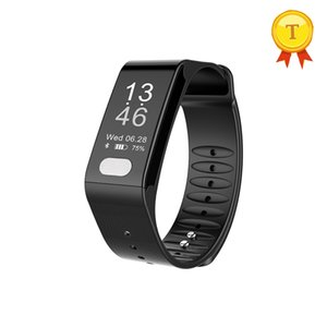 Wholesale 2018 New arrival smart bracelet heart rate blood pressure monitoring two different time display options for Android phones