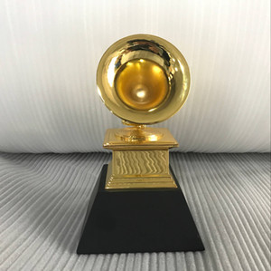 Grammy award trophy By Free DHL shioment and with black base the size 20cm high Grammy award trophy