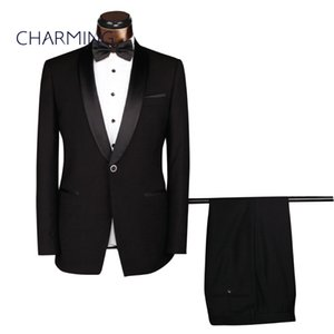 Mens dress suits Black mens suit Mens formal suits Men's designer suits Suitable for work, weddings, parties, more formal occasions