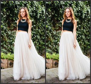 Wholesale 2098 New Long Length Layered Tulle Tutu Skirts For Adults Custom Made A-Line Cheap Party Prom Skirts Women Clothing Cheap Free Shipping