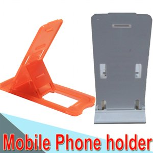 Folding Mini Mobile Phone Holder plastic Lazy Phone Stand Bed Display phones Accessories for Iphone Tablet Samsung Galaxy Xiaomi XCTZJ-1