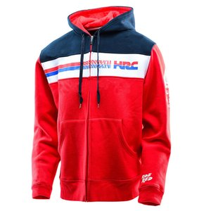 Wholesale Moto Club Group Clothes Motorcycle GP Riding Jacket Male racing Hoodie riding Sports Zip jersey sweatshirts coat