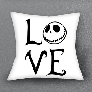 Wholesale decorate pillow covers for sale - Group buy Eco Friendly The Nightmare Before Christmas Cushion Cover Pillow Case For Sofa Cushion Home Decorate Pillows Cover Pillowcase