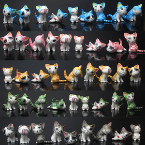 "Hot New 9Pcs Lot 1.2""-1.6"" 3CM-4CM Chi's Sweet Home Cat Figure Anime Collectible Action Figures Best Gifts Toys"