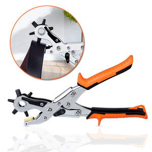 Wholesale watch strap punch resale online - Leather Puncher Leather Belt Hole Punch Set with Holes Size DIY Maker Tool for for Belt Saddle Watch Strap Shoe