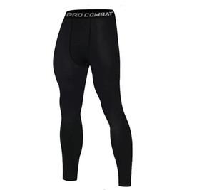 Sports tights new men's Basketball fitness training running leggings quick-drying high elastic tight pants
