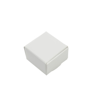 Wholesale boutique box packaging resale online - 50Pcs cm White Kraft Paper Jewelry Cardboard Package Paper Carton Gift Box Candy Boutiques Storage Box Decor Party Box