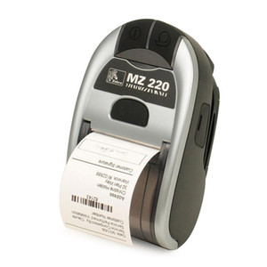 For Original Zebra MZ220 203dpi Wireless Bluetooth Mobile Thermal Printer For 50mm Ticket Or Label Portable Printer