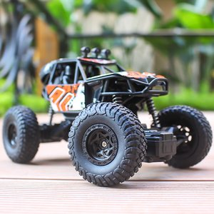 Charging Wireless child vehicle climbing 4drive big foot remote control off-road vehicle high speed remote control vehicle toy car on Sale