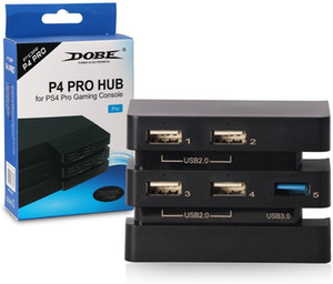 Wholesale pro hub resale online - New for PS4 Pro Accessories Play Station Pro Host USB Hub USB Port Game Console Extend USB Adapter for Playstation Pro