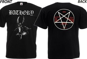 "NEW T-SHIRT ""THE DEBUTE ALBUM OF METAL BAND BATHORY 1984'' DTG PRINTED TEE-S-6XL"