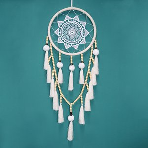 Creative Hair Ball Tassel Dream Catcher Hanging Bed Head Home Decoration Handmade Children's Room Ornament Support FBA Drop Shipping H707F