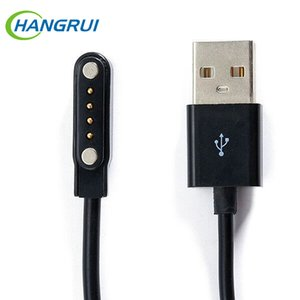 Wholesale USB Magnetic charger Cable Male Pin pin Magnetic Suction Charging Wire Cable Cord Data Cable For Smartwatch GT88 G3 KW18 KW88