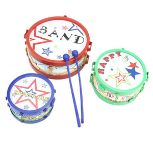 Wholesale Children Kids Colorful Plastic Musical Instruments Toy Drum Drum Kit Set MUSIC
