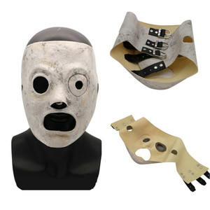 Wholesale 2018 New Latex Slipknot Masks Corey Taylor Cosplay Mask TV Slipknot Mask Halloween Party Masquerade Bar Masks