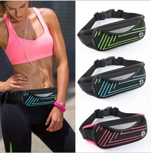 Fanny Elastic Bounce Phone Waist Bag Men Women Outdoor Running Cycling Camping Bum Bag Mini Waterproof Waistpack DDA716 Kids Purse