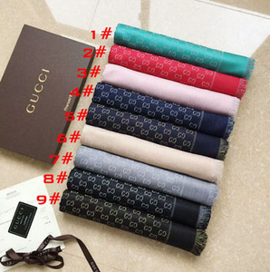 Wholesale Hot Brand Scarfs women Scarf cashmere wool silk design scarfs winter thick Shawl Ladies Scarves Size x140cm without box