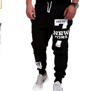 Wholesale Mens Joggers Brand Male Trousers Men Pants Casual Pants Sweatpants Jogger Black Large Size XL ADBB