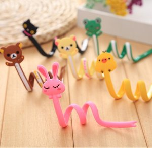 Wholesale Long Strips of Wire Strip Animal Bobbin Winder Ear Mechanism Storage Cable Winder Accessories creative cable holder Cartoon Animal vent toy
